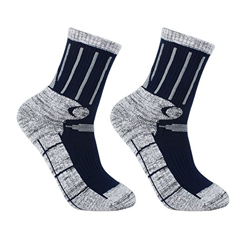 YUEDGE-Mens-2-Pack-Antiskid-Wicking-Cotton-Socks-For-Outdoor-Camping-Hiking-backpacking-Sports
