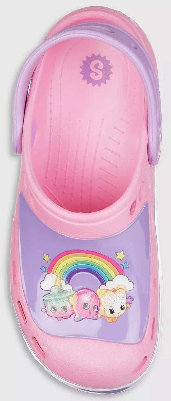 Shopkins Toddler Girls S Sport Clogs
