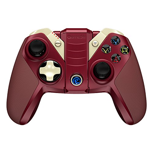GameSir M2 Apple MFi Bluetooth Gamepad iOS Wireless Gaming Controller for Apple TV, iPhone, iPad, iPod touch, Mac - Red by GameSir