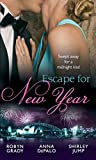 Front cover for the book Midnight Kiss, New Year Wish by Shirley Jump