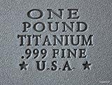 One Pound Bar .999 Fine Titanium