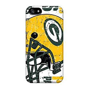 Unique Design Iphone 5/5s Durable Tpu Cases Covers Green Bay Packers Black Friday