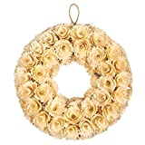 Sometimes unexpected gifts can really brighten up somebody's day when dark skies cloud it over. Pick yourself up this heartwarming, floral gold wreath for a special someone, family member, colleague or friend to help remind them that you're a...