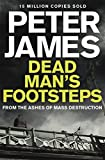 Front cover for the book Dead Man's Footsteps by Peter James