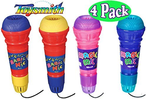 Toysmith Original Magic Mic & Translucent Magic Mic Complete Gift Set Bundle - 4 -