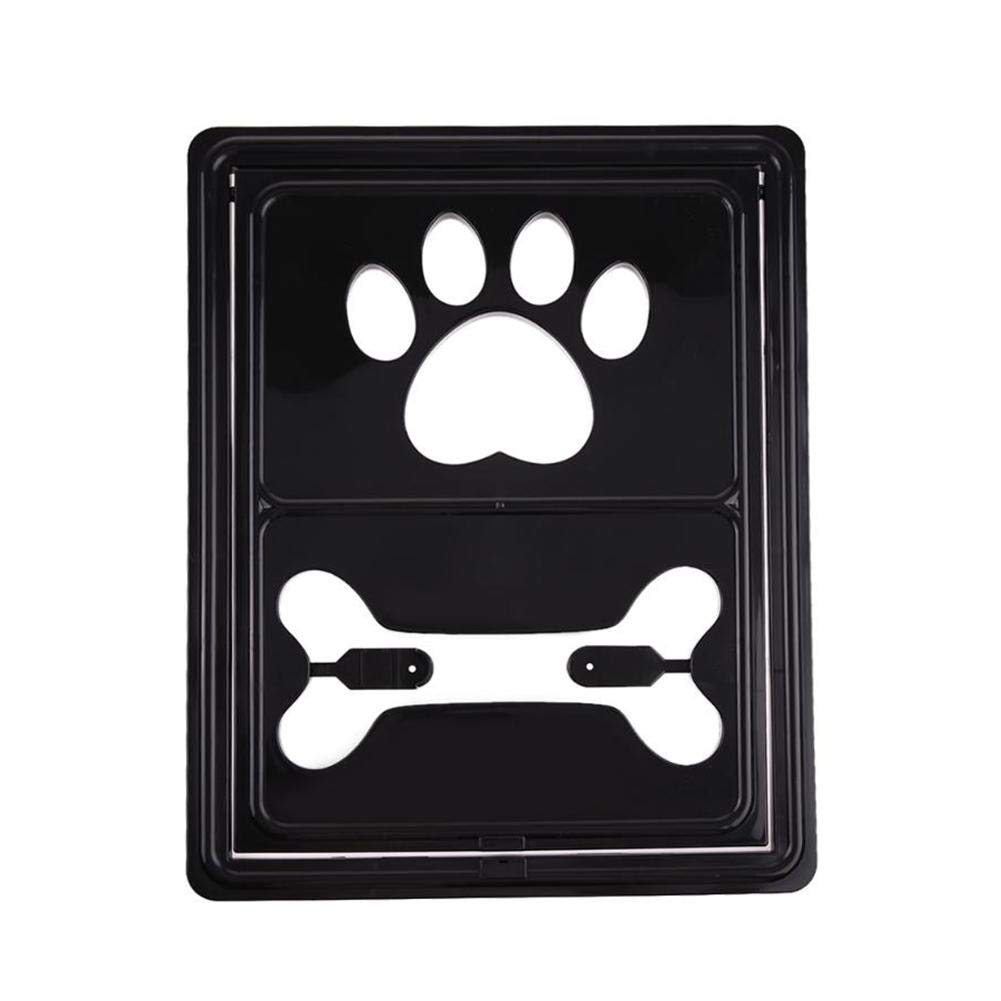 Black Dacyflower New pet Screen Window Dog Door cat Door Hole Summer Mosquito Screen Door