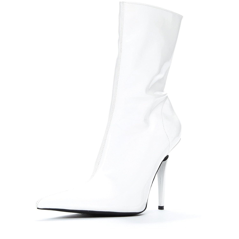 Gamora Lo' patent boot white