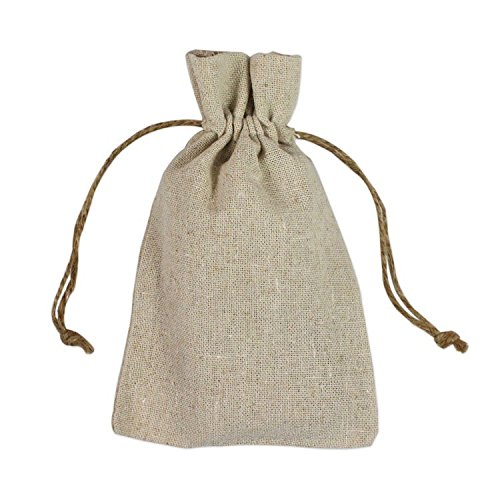Pack of 12 – Cute Wedding Party Favor Pouches with Drawstring Cord, Promotional Ideas, Parties, Wedding Favors, Holiday Decorations, Gifts, Arts and C…