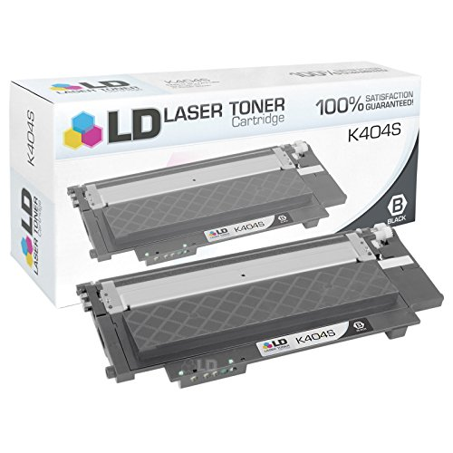 LD © Compatible Samsung CLTK404SCTS Black Toner Cartridge for XPRESS C430, C430W, C480 and C480W (1,500 Page Yield)