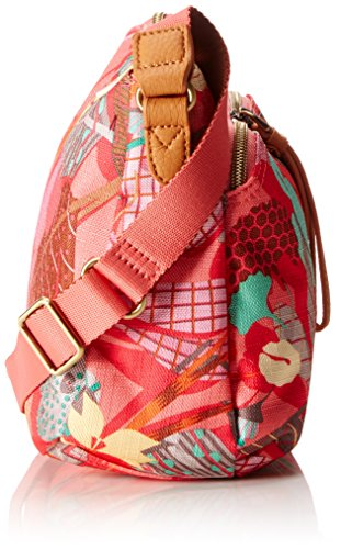 Bag Rose Pop Shoulder Botanic Oilily S Flamingo qfOwvBBn
