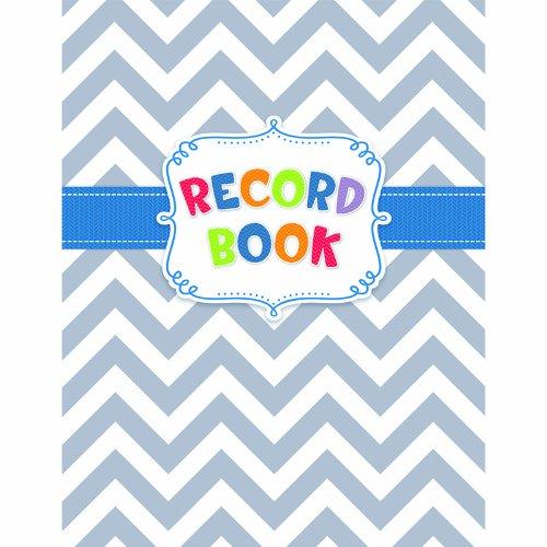 CREATIVE TEACHING PRESS CHEVRON RECORD BOOK (Set of 12) by Creative Teaching Press