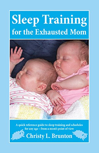 Sleep Training Exhausted Mom perspective ebook product image