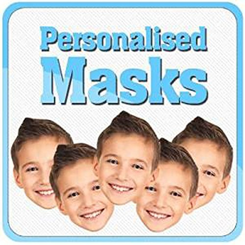 Celebrity Cutouts Personalised Cardboard Face Mask. Stag and