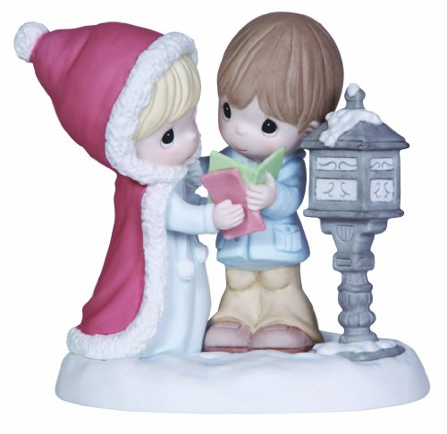 Precious Moments Couple at Mailbox Figurine, 131012