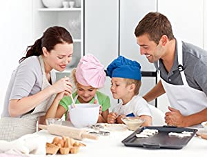 Marathon Housewares KWSET88813 Premium Silicone 6 Cup Standard Size Muffin Pan, Fuchsia (2-Pack)