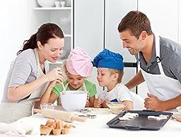 Marathon Housewares KW200016GR Premium Silicone 6 Cup Jumbo Muffin or Cupcake Pan, Green