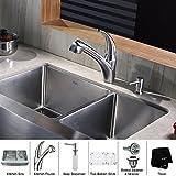 Kraus KEA-12225BN Imperium Bathroom Accessories - Towel Ring Brushed Nickel