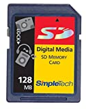 SimpleTech STI-SD/128 128MB SecureDigital Card