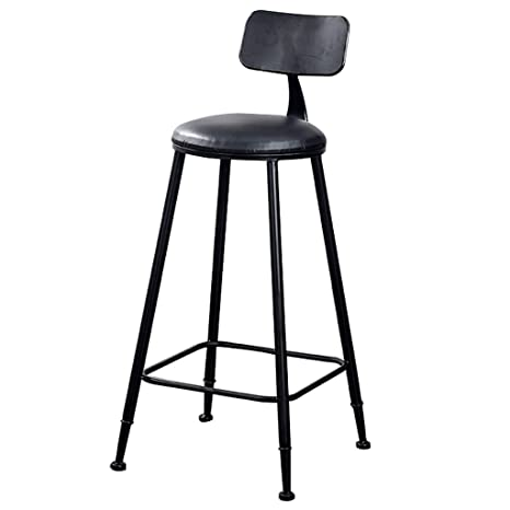 Astounding Amazon Com A Fort High Stool Bar Stool Black Retro Wrought Ocoug Best Dining Table And Chair Ideas Images Ocougorg
