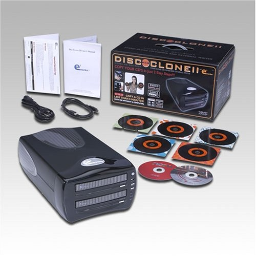 E3 WORKS DISCCLONE II Stand-alone CD copier