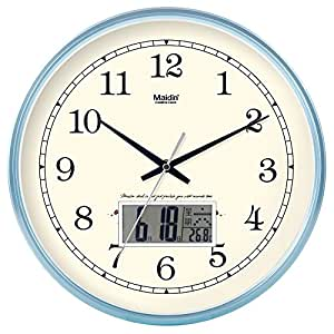 Amazon Com Hanpiaotech Home Decor Time Clock Calendar