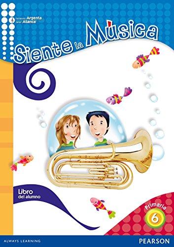Siente la música 6 libro del alumno (castellano) - 9788420561073 Fernando Martín de Argenta Pallarés
