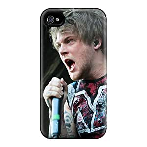 Perfect Cell-phone Hard Covers For Apple Iphone 4/4s With Unique Design HD Asking Alexandria Band Pictures Iphonecase88