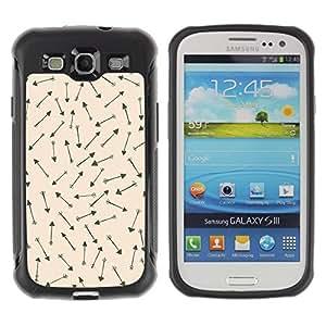 "Hypernova Defender Series TPU protection Cas Case Coque pour Samsung Galaxy S3 III I9300 [Cueva Dibujos Wallpaper Caza""]"