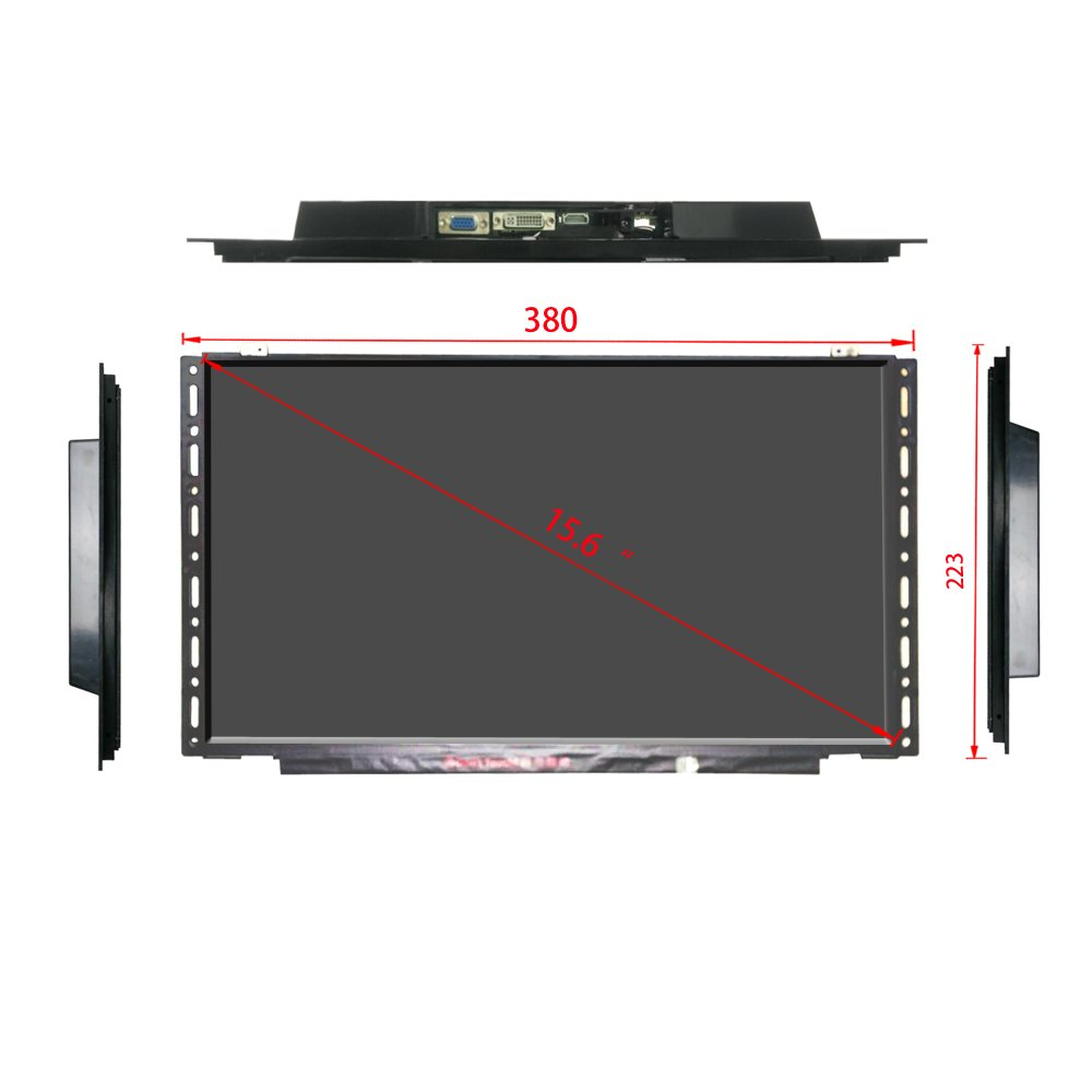 15.6†HD Open Frame LCD Commercial Advertising Display Screen by Playerman (Image #2)