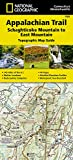 Appalachian Trail, Schaghticoke Mountain to East Mountain [Connecticut, Massachusetts] (National Geographic Trails Illustrated Map)