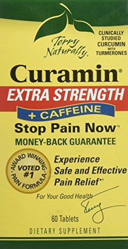 Terry Naturally Europharma Curamin Extra Strength + Caffeine - 60 Tablets