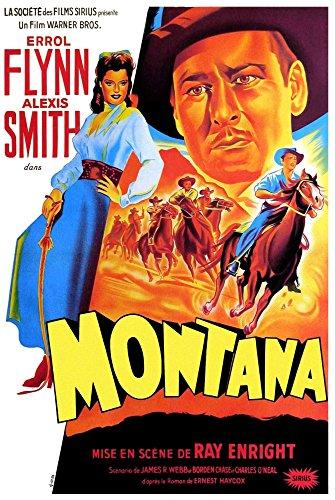 Posterazzi Montana Alexis Smith Errol Flynn (French Art) 1950. Movie Masterprint Poster Print (11 x 17)