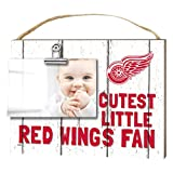 "KH Sports Fan 1001101649 10""x8"" Detroit Red Wings Clip It Weathered Baby Logo NHL Photo Frame"