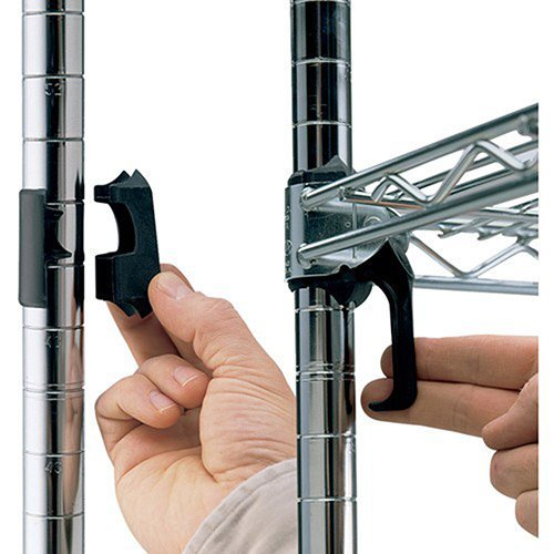 METRO Extra Shelf Clips for Super Adjustable 2 Shelving by METRO
