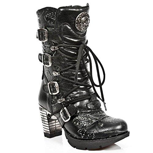 NEWROCK NR M.TR003 S8 Noir - Bottes New Rock - Femmes