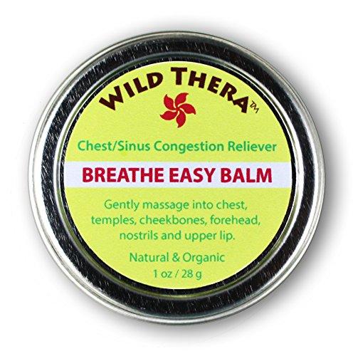 Breathe Easy Baume (1 oz) 100% du relief naturel des symptômes de la poitrine / congestion des sinus, les allergies et les rhumes