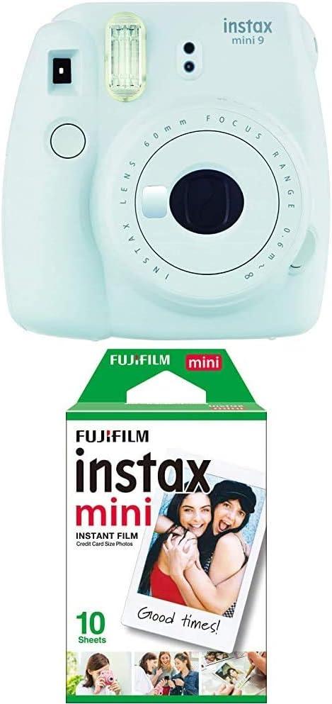 Fujifilm Instax Mini 9 Kamera Eis Blau Mini Instant Kamera