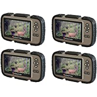 Stealth Cam CRV43 4.3 LCD Screen Game Photo Viewer & SD Card Reader (4 Pack)