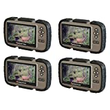 Stealth Cam CRV43 4.3'' LCD Screen Game Photo Viewer & SD Card Reader (4 Pack)
