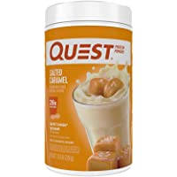Quest Nutrition Salted Caramel Protein Powder, High Protein, Low Carb, Gluten Free, Soy Free, 25.6 Ounce (Pack of 1)