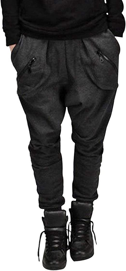 HaiDean Pantalones De Jogging para Hombres Chinos Chándal ...