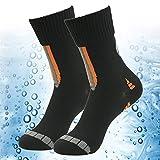 100% Waterproof Skiing Socks, RANDY SUN Unisex Socks-The Best Socks For Trail Running Obstacles Courses M