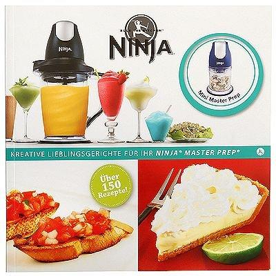 NINJA Kochbuch über 150 Rezepte für die NINJA Küchenmaschine: Amazon ...