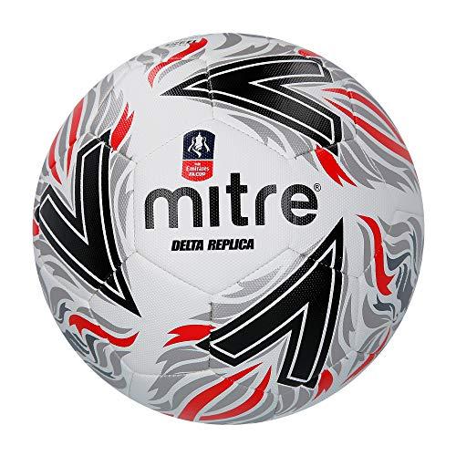 Mitre Delta Replica FA Cup Balón de fútbol, Unisex Adulto a buen precio