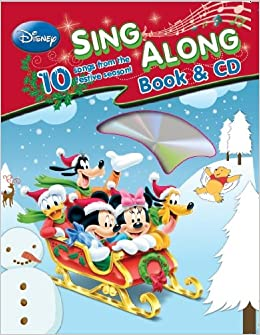 disney christmas sing along book disney 9781445452555 amazoncom books