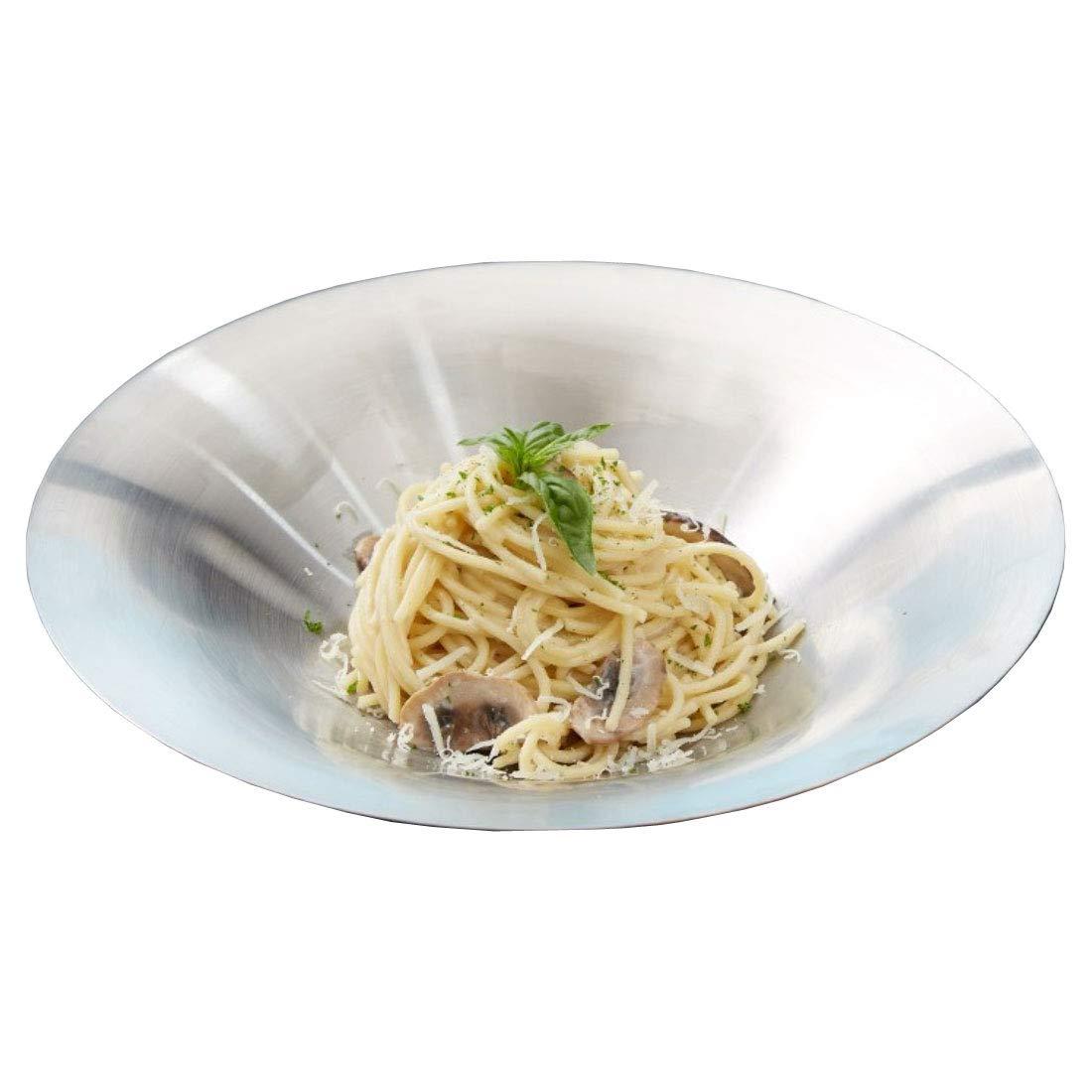 RAKURAKU KOREA Stainless Steel Salad/Pasta Bowls, Set of 2