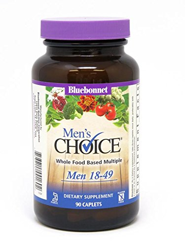 Bluebonnet Targeted Multiples Men's Choice Caplets, 90 Count