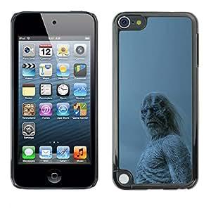 A-type Arte & diseño plástico duro Fundas Cover Cubre Hard Case Cover para Apple iPod Touch 5 (Blanca Walker)