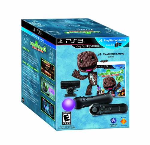 LittleBigPlanet 2 Special Edition Move Bundle - Playstation 3 by Sony (Image #1)