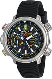 Citizen Men's BN5030-06E Altichron Eco-Drive Titanium Black Rubber Strap Watch